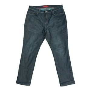 LL Bean Performance Stretch Flannel Lined Jeans